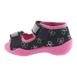 Dječje cipele Befado papuče 242P089 mornarsko plave boje 2