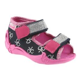 Dječje cipele Befado papuče 242P089 mornarsko plave boje 1