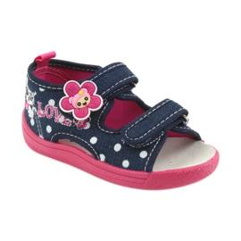American Club Dječje cipele papuče sandale američki kožni umetak 1
