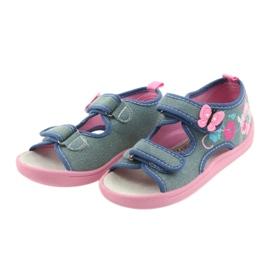 American Club Dječje cipele na papučama sandale američke kože 37/19 3