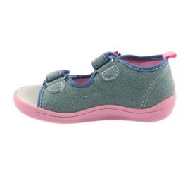 American Club Dječje cipele na papučama sandale američke kože 37/19 2