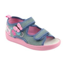 American Club Dječje cipele na papučama sandale američke kože 37/19 1