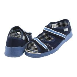 Sandale dječje cipele Velcro Befado 969x101 mornarsko plave boje 5
