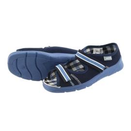 Sandale dječje cipele Velcro Befado 969x101 mornarsko plave boje 4