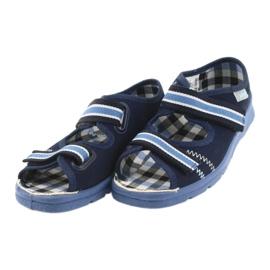 Sandale dječje cipele Velcro Befado 969x101 mornarsko plave boje 3
