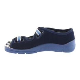 Sandale dječje cipele Velcro Befado 969x101 mornarsko plave boje 2