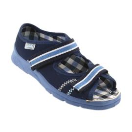 Sandale dječje cipele Velcro Befado 969x101 mornarsko plave boje 1