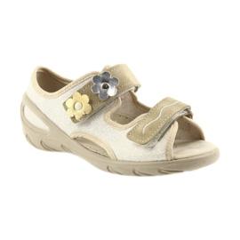 Befado dječje cipele pu 065X121 žuti 2