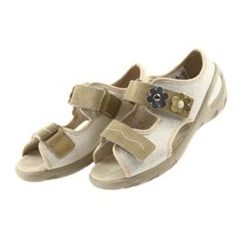 Befado dječje cipele pu 065X121 žuti 4