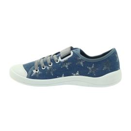 Dječje cipele Befado 251Q094 siva plava 4