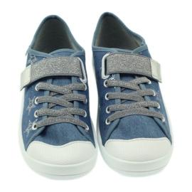 Dječje cipele Befado 251Q094 siva plava 5
