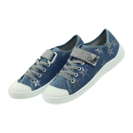 Dječje cipele Befado 251Q094 siva plava 7