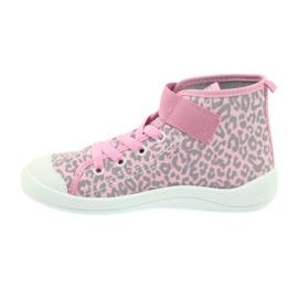 Dječje cipele Befado 268Y057 ružičasta siva 3