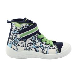 Befado dječja cipela uzorak za bojanje 268Y065 zelena mornarsko plava 1