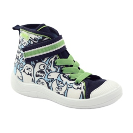 Befado dječja cipela uzorak za bojanje 268Y065 zelena mornarsko plava 2