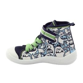 Befado dječja cipela uzorak za bojanje 268Y065 zelena mornarsko plava 3