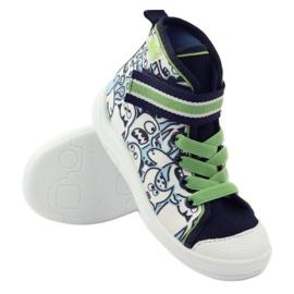 Befado dječja cipela uzorak za bojanje 268Y065 zelena mornarsko plava 4