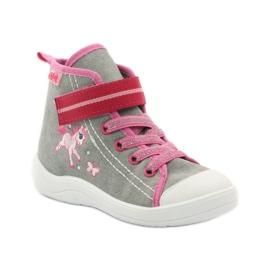 Dječje cipele Befado 268X059 ružičasta siva 2