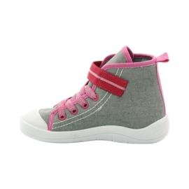 Dječje cipele Befado 268X059 ružičasta siva 3