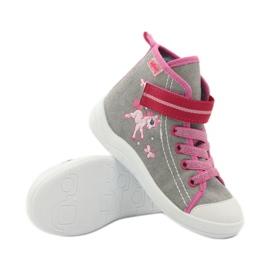 Dječje cipele Befado 268X059 ružičasta siva 4