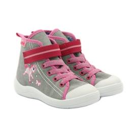 Dječje cipele Befado 268X059 ružičasta siva 5