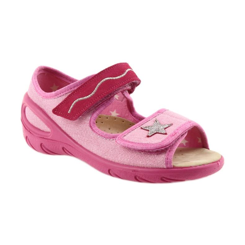 Rózsaszín Befado gyermekcipő pu 433X032 kép 2