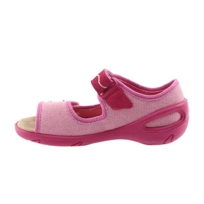Rózsaszín Befado gyermekcipő pu 433X032 kép 3