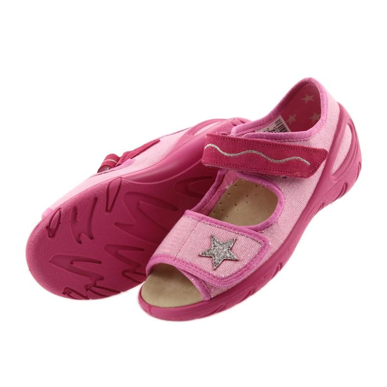 Rózsaszín Befado gyermekcipő pu 433X032 kép 5