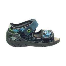 Dječje cipele Befado pu 433P028 siva plava 2