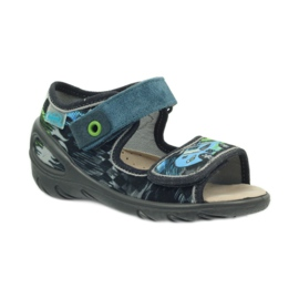 Dječje cipele Befado pu 433P028 siva plava 3