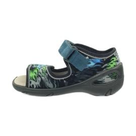 Dječje cipele Befado pu 433P028 siva plava 4