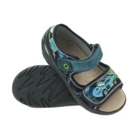 Dječje cipele Befado pu 433P028 siva plava 5