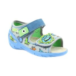 Befado pu 433P031 dječja obuća plava siva 3