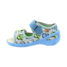 Befado pu 433P031 dječja obuća plava siva 4