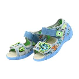Befado pu 433P031 dječja obuća plava siva 6