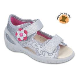 Befado dječje cipele pu 065X124 siva 1