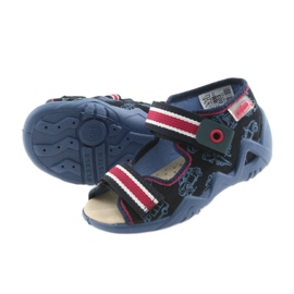Befado žute dječje cipele 350P003 mornarica 6
