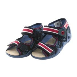 Befado žute dječje cipele 350P003 mornarica 4