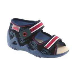 Befado žute dječje cipele 350P003 mornarica 2