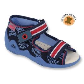 Befado žute dječje cipele 350P003 mornarica 1