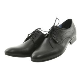 Muške klasične platnene cipele Nikopol 1693 crne crna 3