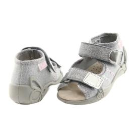Befado žute dječje cipele 342P002 siva 5