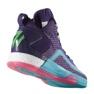 Košarkaške cipele adidas John Wall 2 Boost Prime Knit M D70028 purpurna boja ljubičasta, ružičasta 1