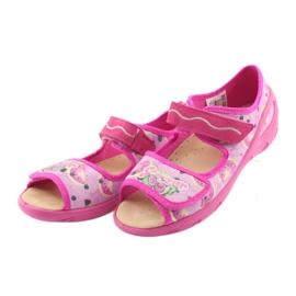 Befado dječje cipele pu 433X030 ružičasta 5