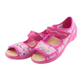 Befado dječje cipele pu 433X030 ružičasta 4