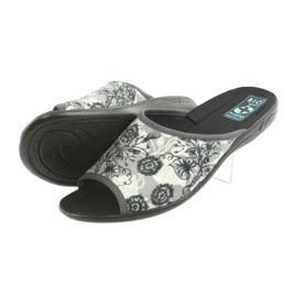 Ženske papuče Adanex 23981 sive 4