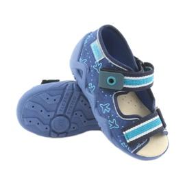 Befado žute dječje cipele 350P004 4