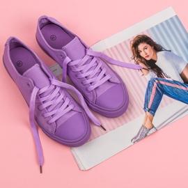 Seastar Ljubičaste tenisice purpurna boja 4