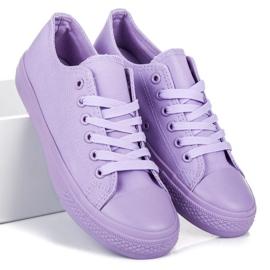 Seastar Ljubičaste tenisice purpurna boja 2