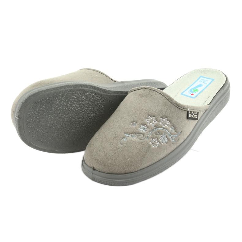 Szürke Befado női cipő pu 132D013 kép 4